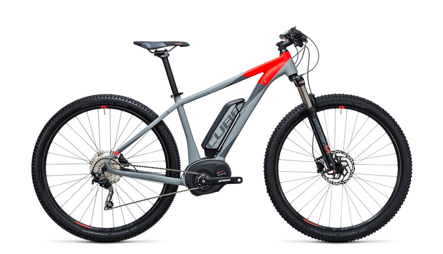 Cube Reaction Hybrid HPA Pro 500 - Bicicletas eléctricas - gris
